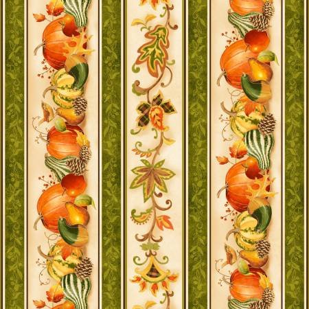 AUTUMN SONG 26291-MUL1 THANKSGIVING BORDER