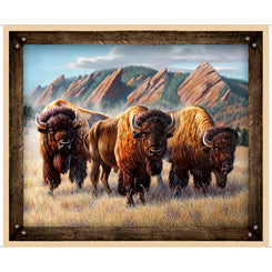 ROAM FREE 27940P-A BUFFALO HERD PANEL