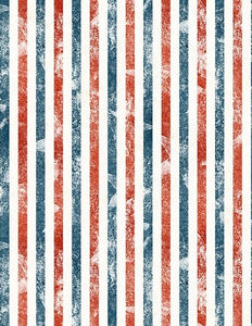 LAND OF LIBERTY 24041-134 RED, BLUE, AND WHITE STRIPES