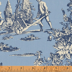 HENNESY 37153-2 TOILE IN BLUE