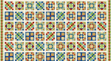 39357-11 CREAM A STITCH IN TIME - QUILT BLOCKS