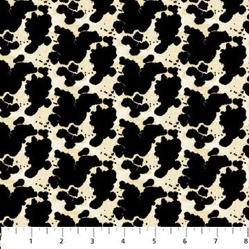 RODEO ROUNDUP - BLK COWHIDE -4865-11
