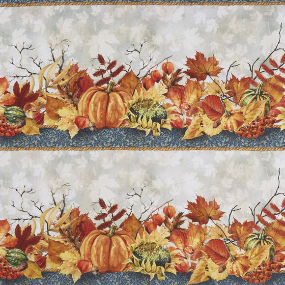 AUTUMN FRIENDS 2OAF2 BORDER STRIPE