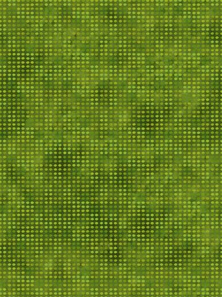 DOT FLANNEL 8AHF-12 GREEN MEADOW