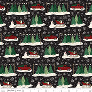 CHRISTMAS TRADITIONS C9590 MAIN BLACK