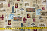"""POSTCARDS FROM ABROAD"" QUILT KIT"
