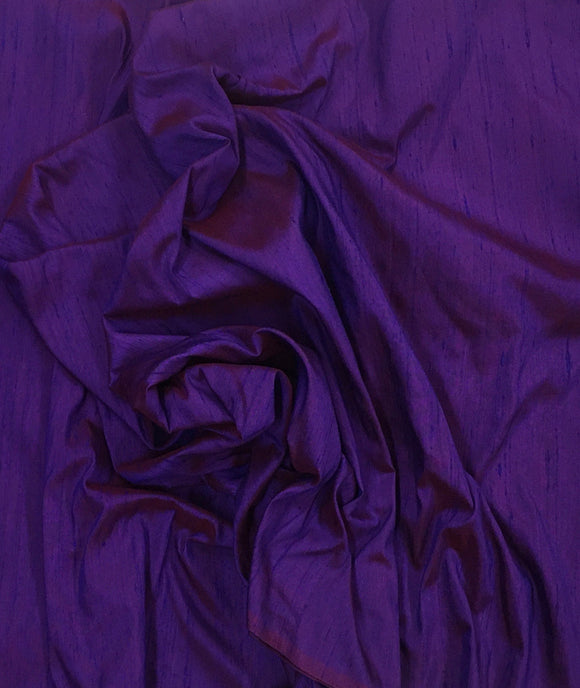 DUPIONI SILK-PURPLE