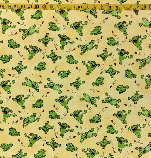 COMFY FLANNEL 0506-44 HAPPY FROGS