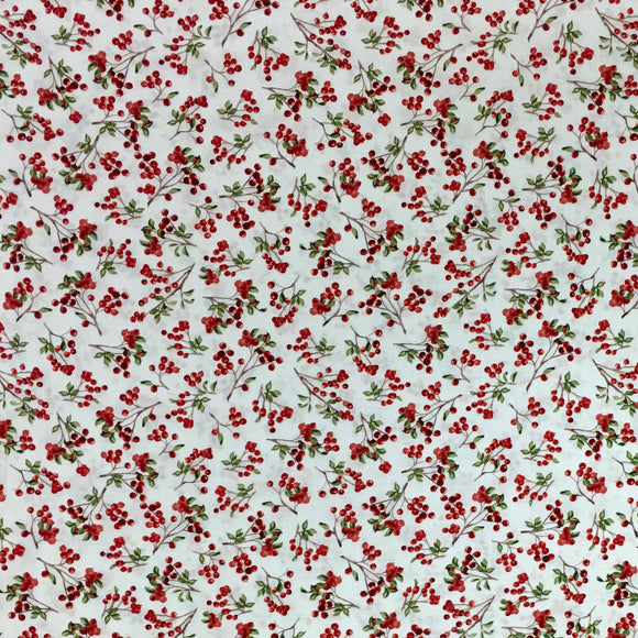 Windham Fabrics - Winter Cardinals by Whistler Studios #39006-1
