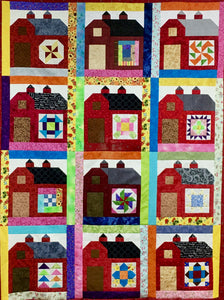 "COMPLETE ""BARN B.O.M"" QUILT KIT"