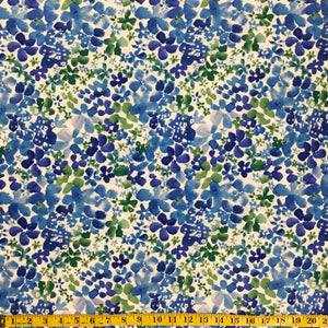 BLOOM-33 BLUE FLORAL