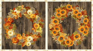 AUTUMN BEAUTIES METALLIC 19314P-191 WREATHES