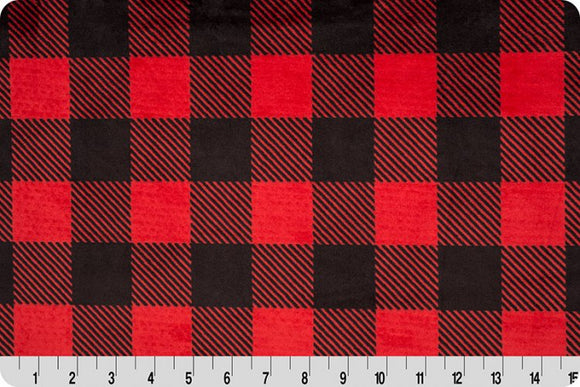 BUFFALO CHECK CUDDLE  SCARLET/BLACK