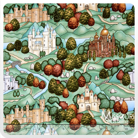 ENCHANTED KINGDOM BY DAN MORRIS 1643-1 CASTLES