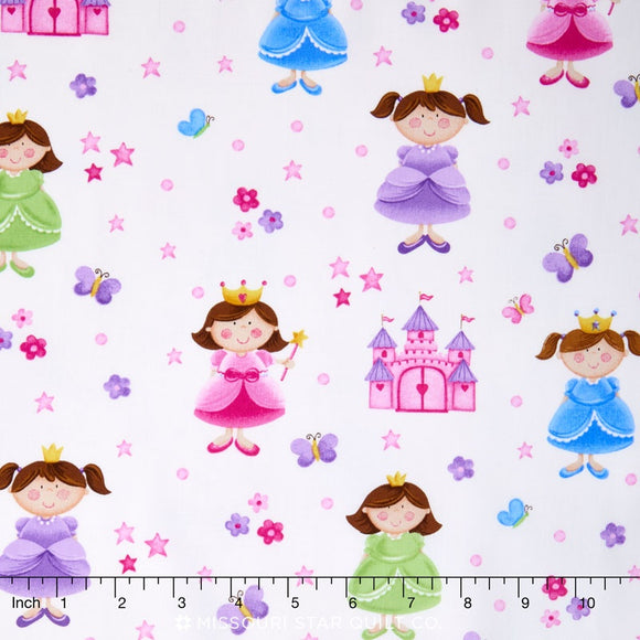 LITTLE PRINCESS  20742-10  LITTLE PRINCESS WHITE MULTI