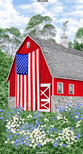 RED BARN FLAG C7469P