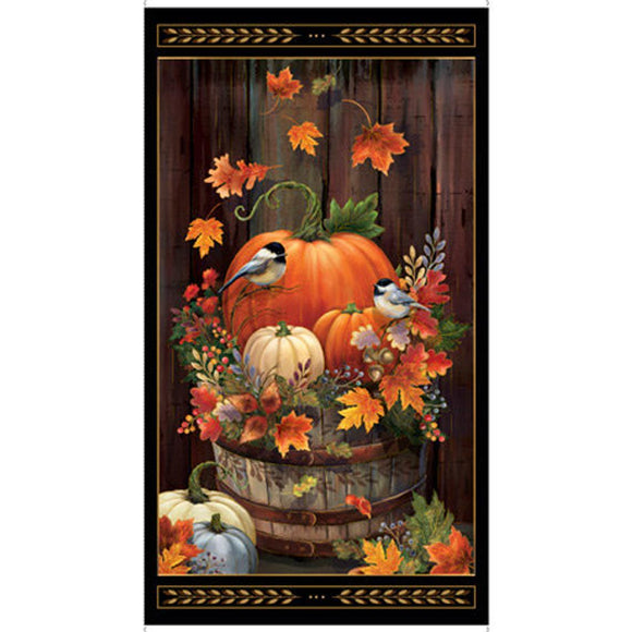 HARVEST ELEGANCE 27669-J FALL PUMPKINS