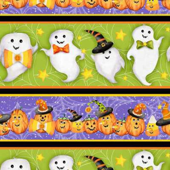 HAPPY HAUNTING  BORDER PRINT