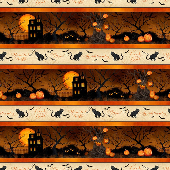 HAUNTED NIGHT BORDER