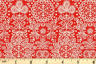 SCANDI 4 - LACE - Red (1784/R)