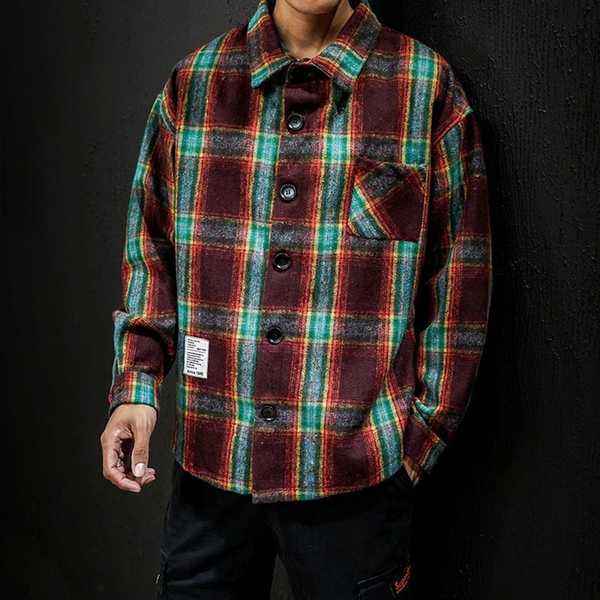 Banksy Flannel Shirt
