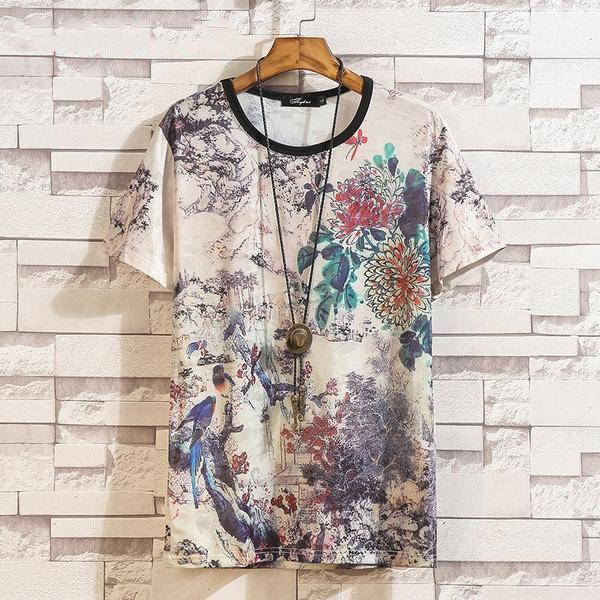 Japanese Scenery Graphic Shirt