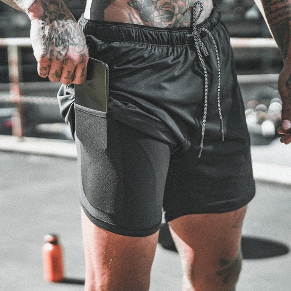 Rift - Dual Layer Athletic Shorts