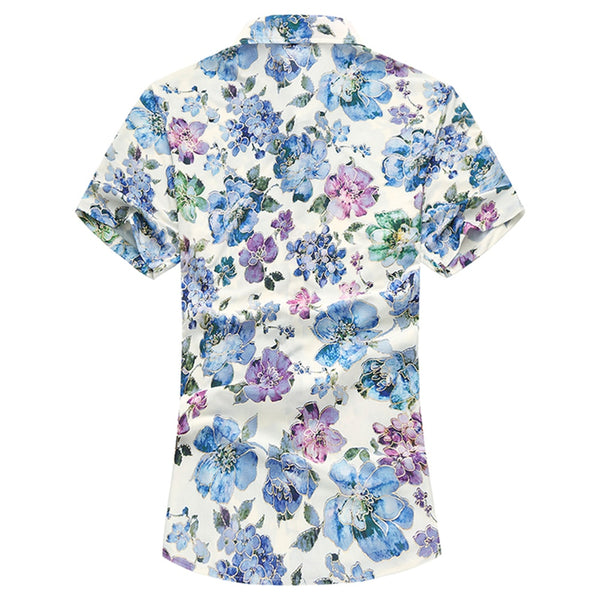 Watercolor Dress Shirt