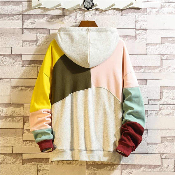 Patch Color Hoodie