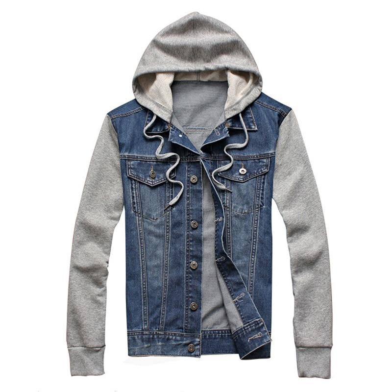 Versa Denim Hooded Sweater