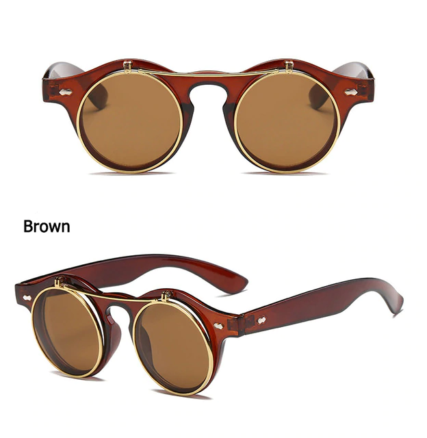 Steampunk Double Layer Sunglasses