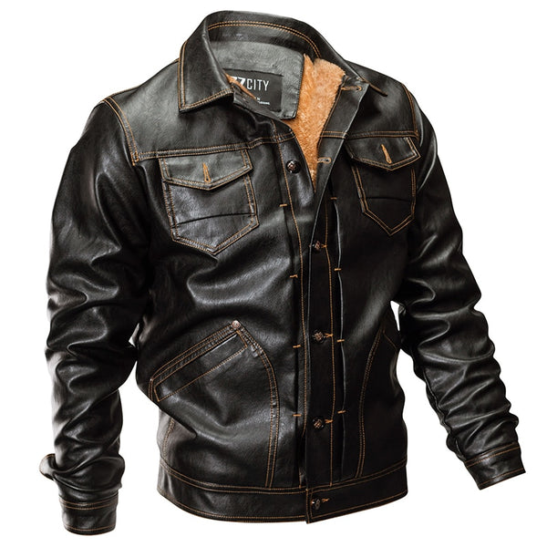 Weston Leather Bomber Jacket