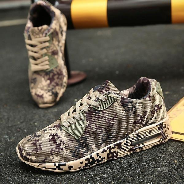 Digital Camo Runners