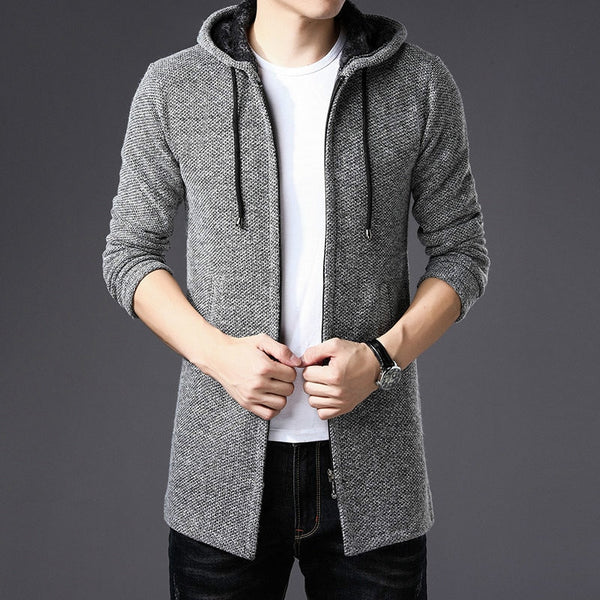 Trench Hooded Sweater