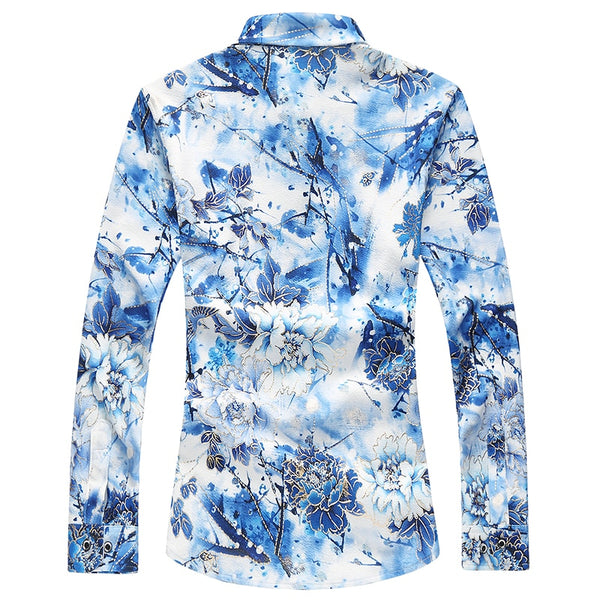 Electric Floral Shirt
