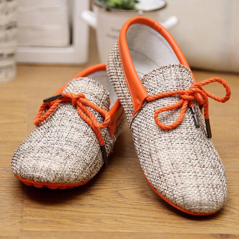 Woven Loafers