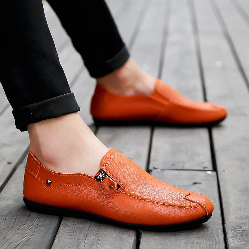 Merovera Zippered Loafer