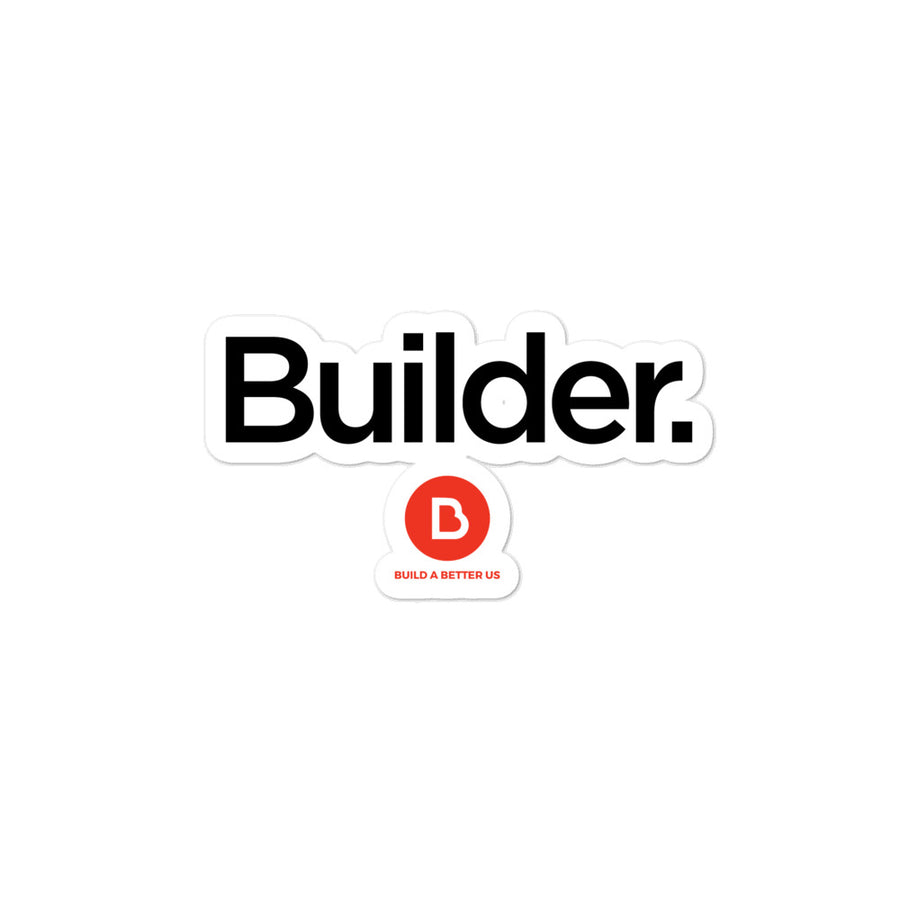 Builders Bubble-free stickers