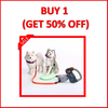 Boomy dog leash for two