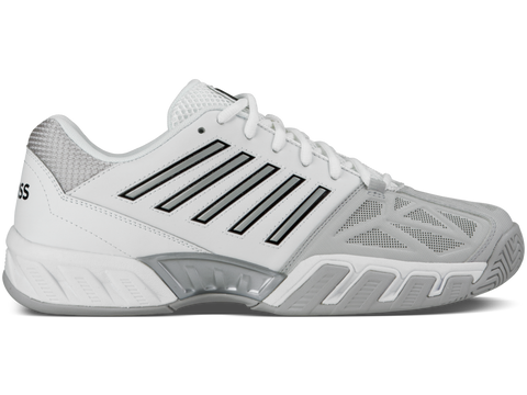 K-Swiss Men Bigshot 3 Tennis Shoes White/Grey