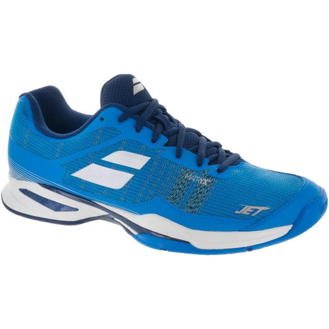 Babolat Men Jet Match All Court Tennis Shoes Blue