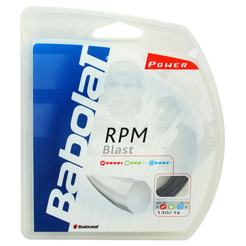Babolat RPM Blast Polyester Strings 16 Black