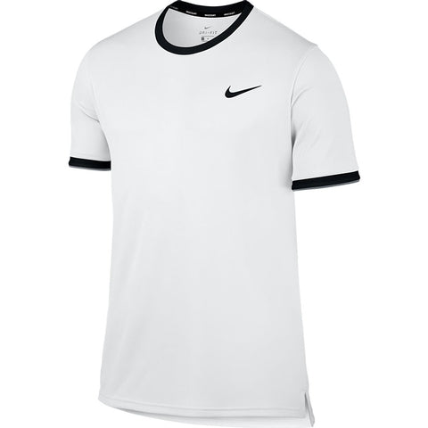 Nike Men Court Dry Team Crew Performance Top with Lakewood National Logo