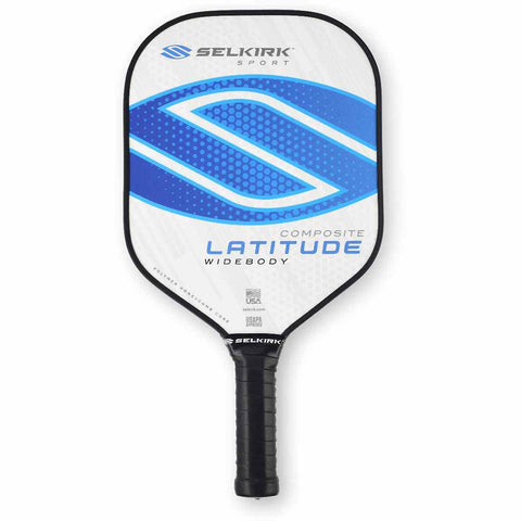 Selkirk Sport Latitude Widebody Composite Pickleball Paddle White/Blue