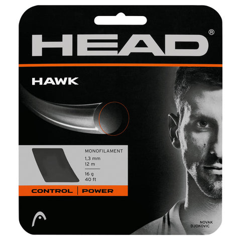 Head Hawk Polyester Strings 16 Grey