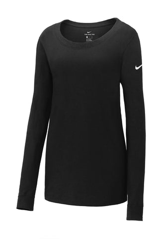 Nike Ladies Long Sleeve Scoop Neck Tee