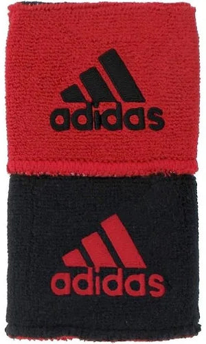 Adidas Reversible Wristbands Red/Black