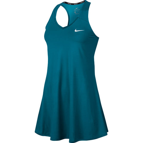 Nike Women Pure Performance Tennis Dress Turquoise