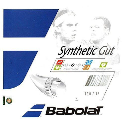Babolat Synthetic Gut Strings 16 White