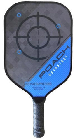 Engage Poach Advantage Pickleball Paddle Blue